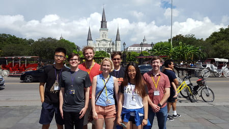 Residential student trip to New Orleans